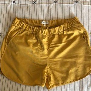Madewell Marigold Shorts w/pockets size Med